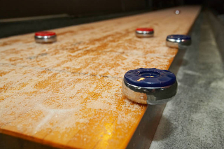SOLO® Shuffleboard Movers Wooster, Ohio.